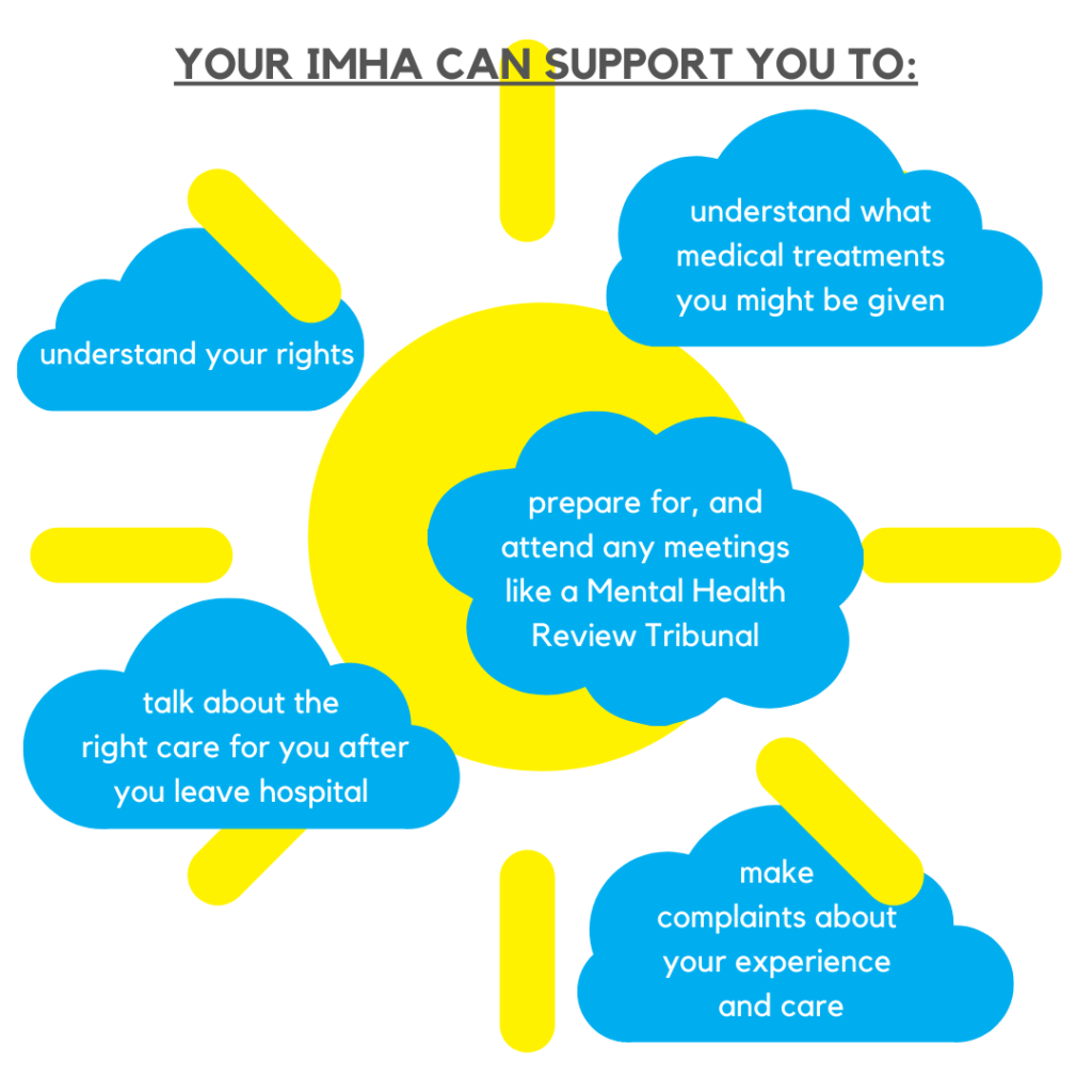 How your Independent Mental Health Advocate can help you